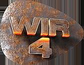 Wir 4 | Austropop Logo